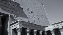 Tempel des Horus von Edfu Ägypten